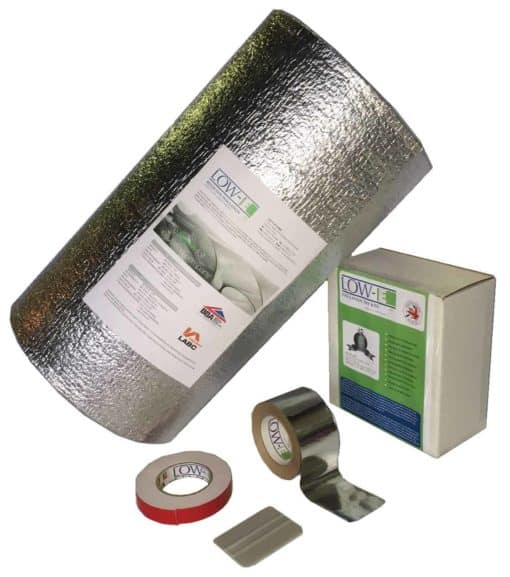 Low-E® Insulation Camper Van Kit