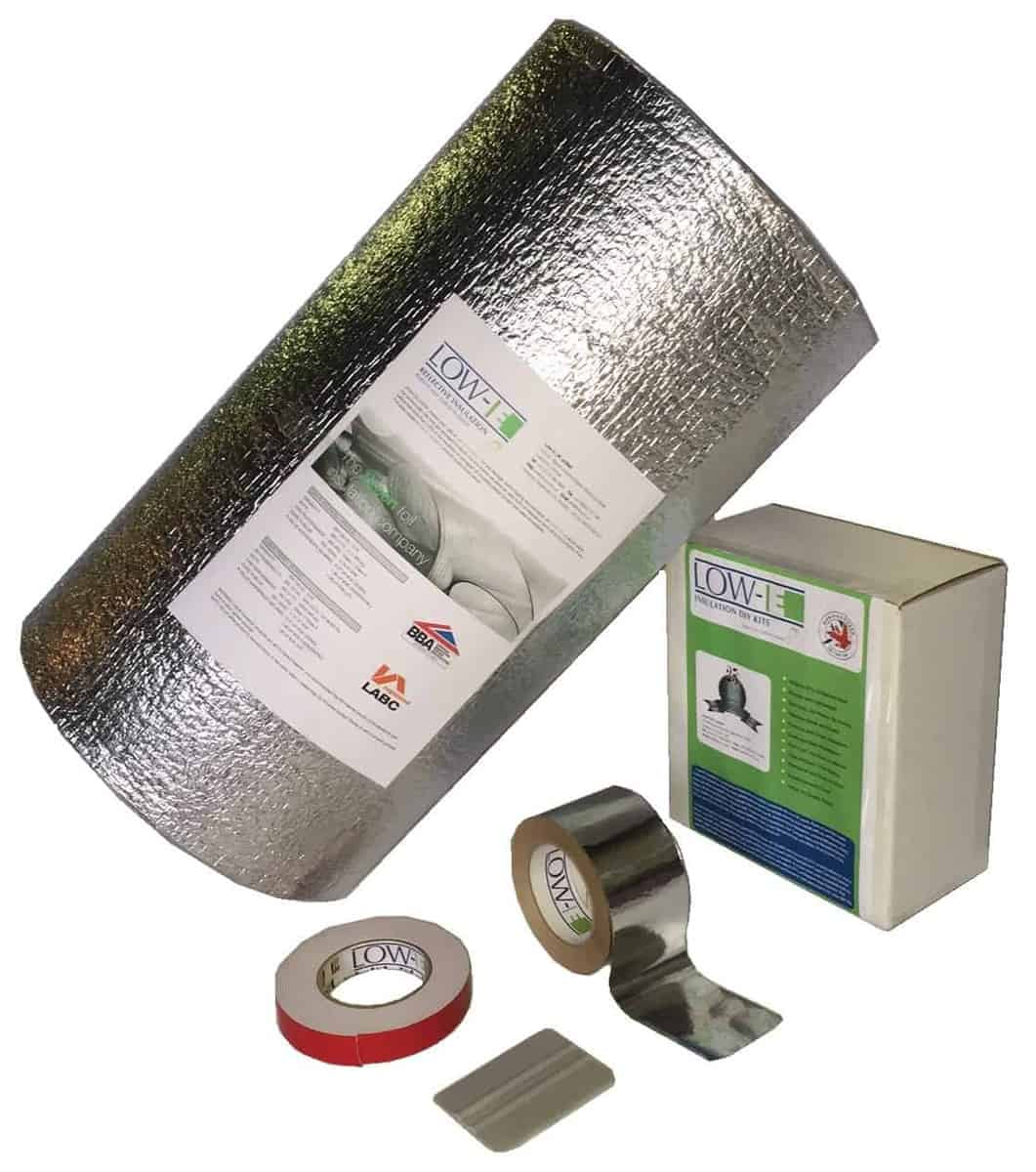 Low-E DIY Camper Van Insulation Kit